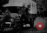 Image of military trucks Germany, 1915, second 10 stock footage video 65675045926