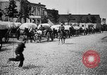 Image of German supply wagons East Prussia, 1915, second 11 stock footage video 65675045930