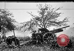 Image of German artillerymen fire 7.7 cm Feldkanone 16  France, 1916, second 6 stock footage video 65675045940