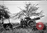Image of German artillerymen fire 7.7 cm Feldkanone 16  France, 1916, second 7 stock footage video 65675045940