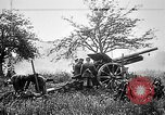 Image of German artillerymen fire 7.7 cm Feldkanone 16  France, 1916, second 8 stock footage video 65675045940