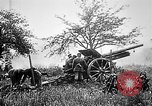 Image of German artillerymen fire 7.7 cm Feldkanone 16  France, 1916, second 9 stock footage video 65675045940