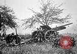 Image of German artillerymen fire 7.7 cm Feldkanone 16  France, 1916, second 10 stock footage video 65675045940