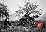 Image of German artillerymen fire 7.7 cm Feldkanone 16  France, 1916, second 11 stock footage video 65675045940