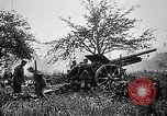 Image of German artillerymen fire 7.7 cm Feldkanone 16  France, 1916, second 12 stock footage video 65675045940