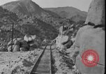 Image of Rail line inaugurated United States USA, 1917, second 3 stock footage video 65675045941