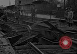 Image of damaged railroad Germany, 1914, second 3 stock footage video 65675045942