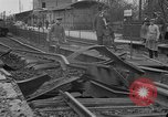 Image of damaged railroad Germany, 1914, second 6 stock footage video 65675045942