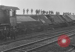 Image of damaged railroad Germany, 1914, second 8 stock footage video 65675045942