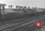 Image of damaged railroad Germany, 1914, second 10 stock footage video 65675045942