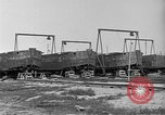 Image of barges at a boatyard United States USA, 1916, second 4 stock footage video 65675045945