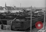 Image of barges at a boatyard United States USA, 1916, second 8 stock footage video 65675045945