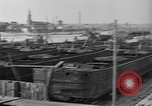 Image of barges at a boatyard United States USA, 1916, second 9 stock footage video 65675045945