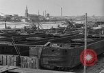 Image of barges at a boatyard United States USA, 1916, second 10 stock footage video 65675045945