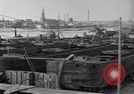 Image of barges at a boatyard United States USA, 1916, second 11 stock footage video 65675045945