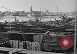 Image of barges at a boatyard United States USA, 1916, second 12 stock footage video 65675045945