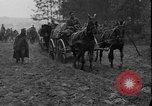 Image of Polish soldiers with arms and shovels Ukraine, 1919, second 12 stock footage video 65675045948