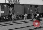 Image of Polish soldiers and families evacuating Poland, 1919, second 4 stock footage video 65675045949