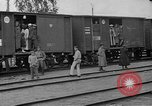 Image of Polish soldiers and families evacuating Poland, 1919, second 5 stock footage video 65675045949