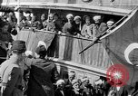 Image of Turkish Nationalists pose on dock Samsun Turkey, 1922, second 1 stock footage video 65675045953