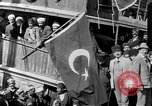 Image of Turkish Nationalists pose on dock Samsun Turkey, 1922, second 5 stock footage video 65675045953