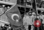 Image of Turkish Nationalists pose on dock Samsun Turkey, 1922, second 7 stock footage video 65675045953