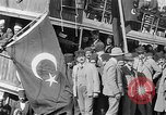 Image of Turkish Nationalists pose on dock Samsun Turkey, 1922, second 8 stock footage video 65675045953