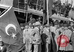 Image of Turkish Nationalists pose on dock Samsun Turkey, 1922, second 10 stock footage video 65675045953