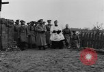 Image of Tsar Nicholas II views fallen soldiers Eastern Front European Theater, 1916, second 6 stock footage video 65675045957