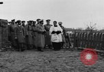 Image of Tsar Nicholas II views fallen soldiers Eastern Front European Theater, 1916, second 7 stock footage video 65675045957