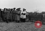 Image of Tsar Nicholas II views fallen soldiers Eastern Front European Theater, 1916, second 8 stock footage video 65675045957