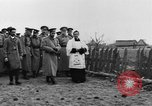 Image of Tsar Nicholas II views fallen soldiers Eastern Front European Theater, 1916, second 10 stock footage video 65675045957