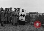 Image of Tsar Nicholas II views fallen soldiers Eastern Front European Theater, 1916, second 11 stock footage video 65675045957