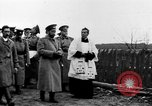 Image of Tsar Nicholas II views fallen soldiers Eastern Front European Theater, 1916, second 12 stock footage video 65675045957
