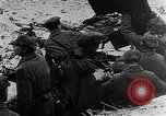 Image of German soldiers advancing in snowy terrain European Theater, 1916, second 5 stock footage video 65675045961