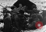 Image of German soldiers advancing in snowy terrain European Theater, 1916, second 7 stock footage video 65675045961