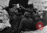 Image of German soldiers advancing in snowy terrain European Theater, 1916, second 9 stock footage video 65675045961