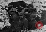 Image of German soldiers advancing in snowy terrain European Theater, 1916, second 10 stock footage video 65675045961