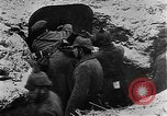 Image of German soldiers advancing in snowy terrain European Theater, 1916, second 11 stock footage video 65675045961