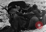 Image of German soldiers advancing in snowy terrain European Theater, 1916, second 12 stock footage video 65675045961