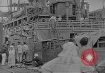 Image of relief supplies to Russia during revolution and world war 1 Novorossiysk Russia, 1917, second 2 stock footage video 65675045974