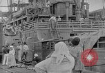 Image of relief supplies to Russia during revolution and world war 1 Novorossiysk Russia, 1917, second 4 stock footage video 65675045974