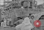 Image of relief supplies to Russia during revolution and world war 1 Novorossiysk Russia, 1917, second 5 stock footage video 65675045974