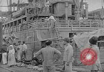Image of relief supplies to Russia during revolution and world war 1 Novorossiysk Russia, 1917, second 7 stock footage video 65675045974