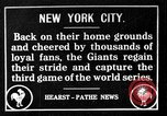 Image of 1917 World Series games 3 and 4 New York City, 1917, second 1 stock footage video 65675045977