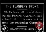 Image of French troops Flanders Western Europe, 1916, second 1 stock footage video 65675045982