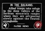 Image of Allied troops Balkans, 1916, second 1 stock footage video 65675045990