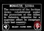 Image of Serbian troops Monastir Serbia, 1916, second 1 stock footage video 65675045991