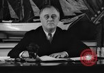 Image of President Franklin Roosevelt Washington DC USA, 1935, second 9 stock footage video 65675046089