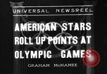 Image of United States athletes in 1936 Olympics Berlin Germany, 1936, second 1 stock footage video 65675046091